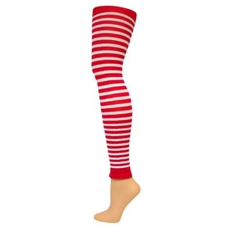 Buy Child Red & White Striped Tights Rubies 6818, Large In Cheap