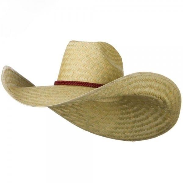 Over Giant Jumbo Western Sheriff Cowboy Straw Hat Costume