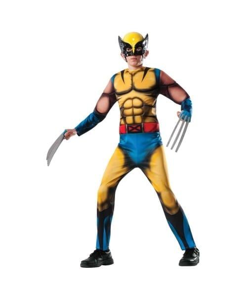 Marvel Wolverine X Men Superhero Boys Halloween Costume
