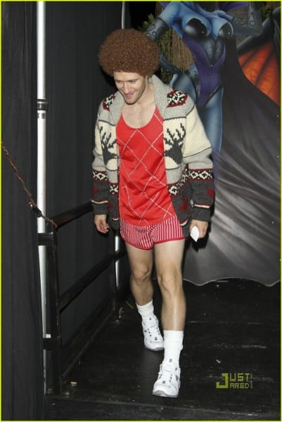 Matthew Morrison  Richard Simmons For Halloween!  Photo 2492026