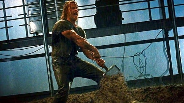 Thor Tries To Lift His Hammer (scene) Movie Clip Hd