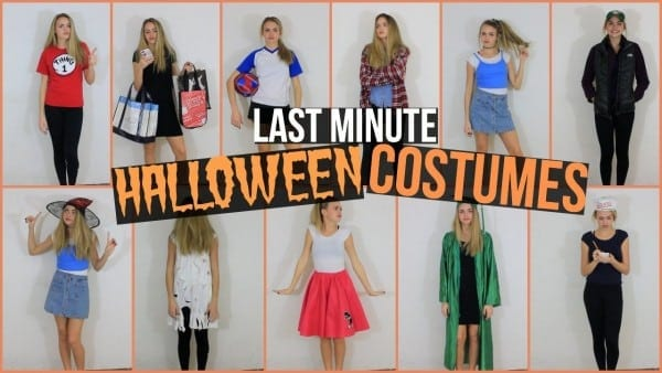 13 Last Minute Halloween Costume Ideas