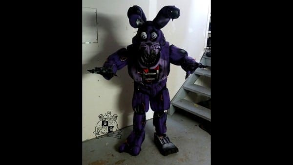 Nightmare Bonnie Cosplay