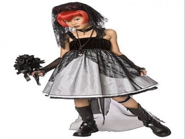 Scary Halloween Costumes For Kids Girls