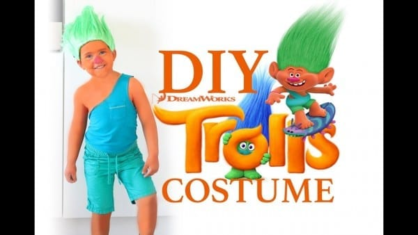 Dreamworks Trolls Kids Halloween Costume Diy Ad