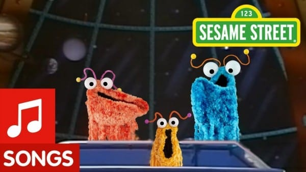 Sesame Street  Yip Yips Sing Their Martian Family Song