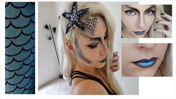 Dark Mermaid Halloween Costume