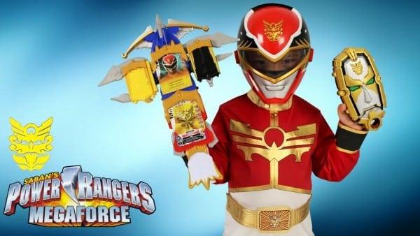Power Rangers Megaforce Weapons Surprise Toys Gosei Morpher Dragon