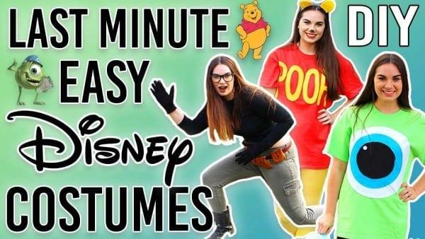 Diy Last Minute Disney Costumes