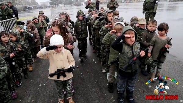Kids Army Costumes