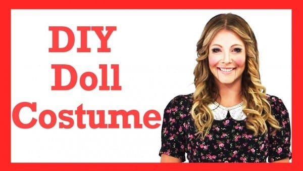 Diy Wind Up Doll Halloween Costume!  17daily