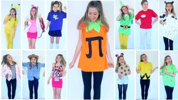 15 Diy Last Minute Halloween Costumes!!