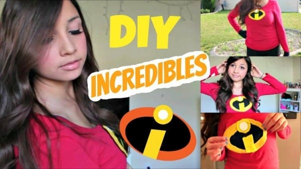 Last Minute Diy Incredibles Costume + Makeup And Hair!