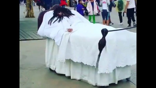 The Exorcist Bed Costume