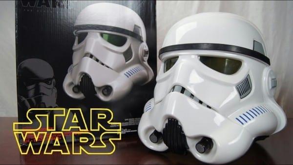 Star Wars Black Series Stormtrooper Helmet Voice Changer Review