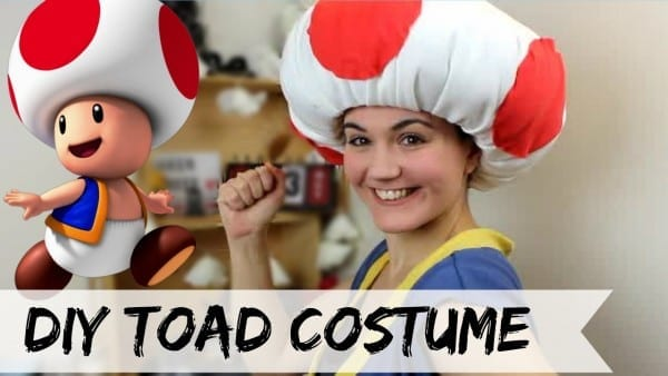 Diy Toad Costume (no Sew)