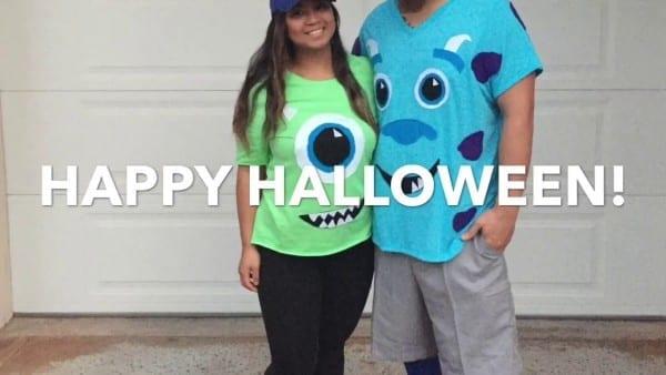 10 31 16  Diy Monsters Inc Costume