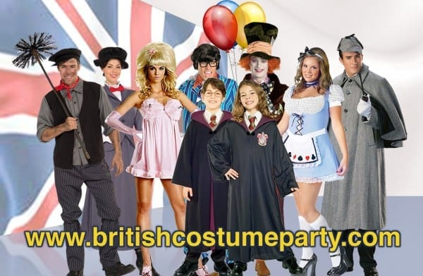 Costume Ideas From British Movies And Tv