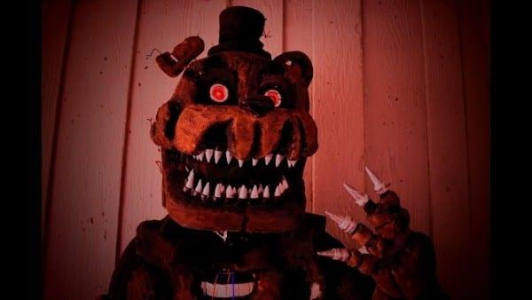 Cosplay Making  Nightmare Freddy [fnaf4]