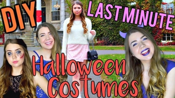 Diy Last Minute Halloween Costume Ideas For Teens! Easy, Cute And