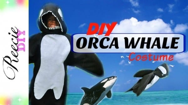How To Make A Whale Costume