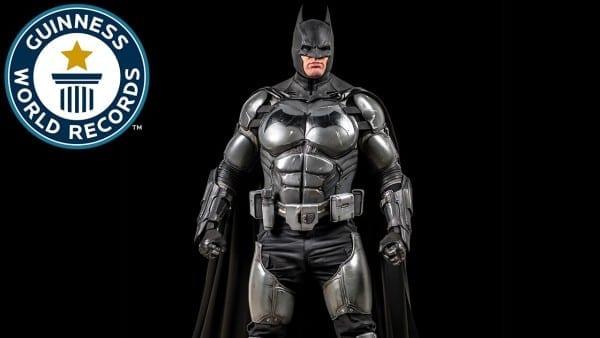 Batman Cosplay Breaks World Record