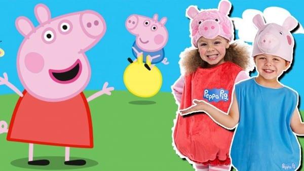 Peppa Pig Cartoon Kids Costumes