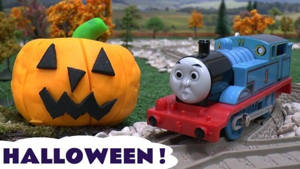 Thomas The Train Play Doh Halloween Pumpkin Ghosts Haunted Toy