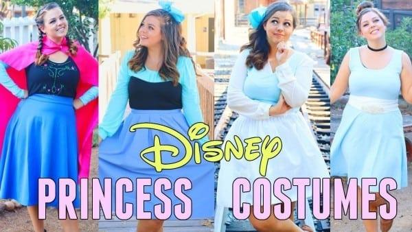 Diy Disney Princess Halloween Costumes 2017!! Diy Costumes For