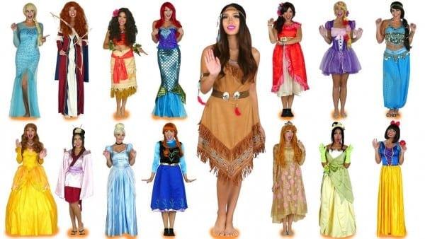 Every Disney Princess Costume Ever For Halloween  Totally Tv