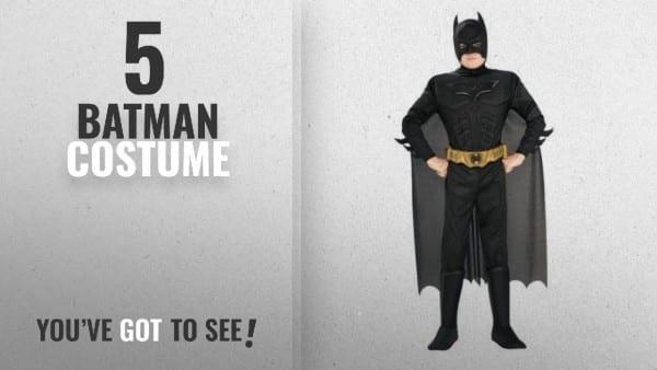 Top 10 Batman Costume [2018]  Batman Dark Knight Rises Child's