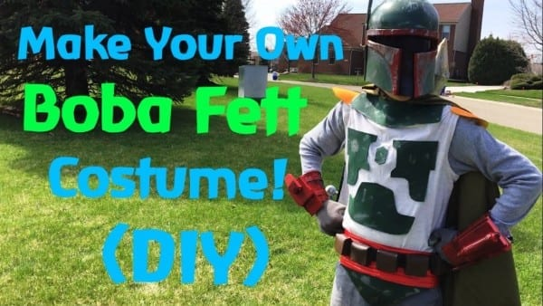 Make Your Own Boba Fett Costume! (diy)