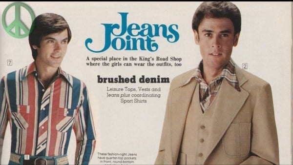 Most Popular And Trend's Retro Men's Style 1970's  70's Vintage