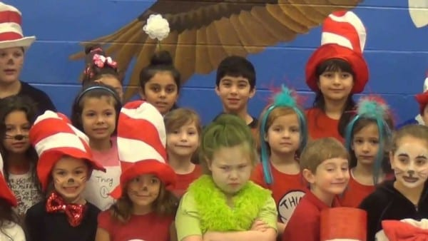 Rla Students Dress Up As Dr  Seuss Characters