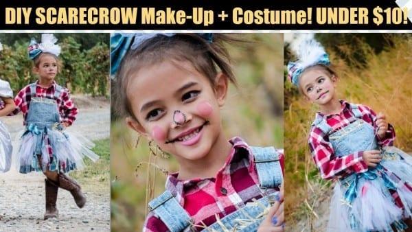 Diy Scarecrow Costume And Makeup