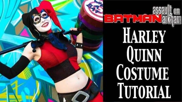 Harley Quinn Assault On Arkham Cosplay Tutorial