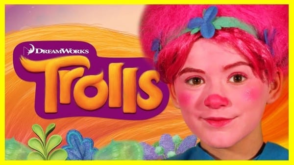 Trolls Poppy Makeup Tutorial!