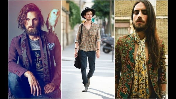 Men Hippie Style For Summer 2018 Edition