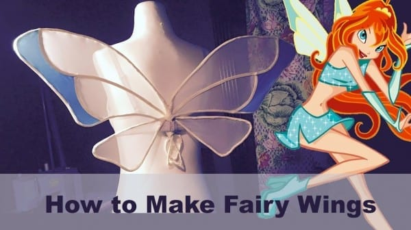 How To Make Fairy Wings (winx)