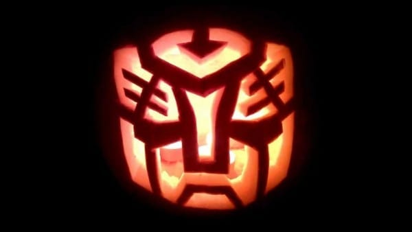 Optimus Pumpkin