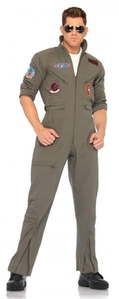 Men's Plus Size Top Gun Flight Suit