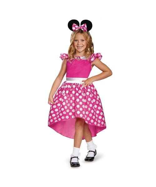 Pink Minnie Mouse Toddler Girls Costume
