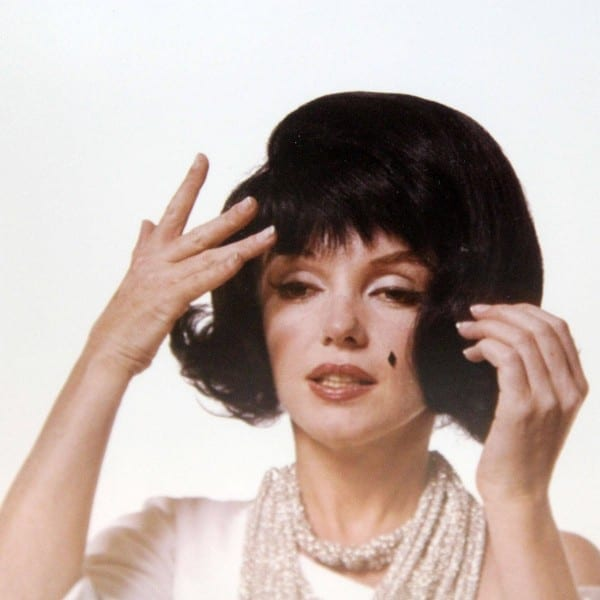 Marilyn Monroe In A Jackie Kennedy Wig (1962)
