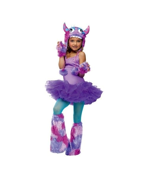 Girls Monster Halloween Costumes