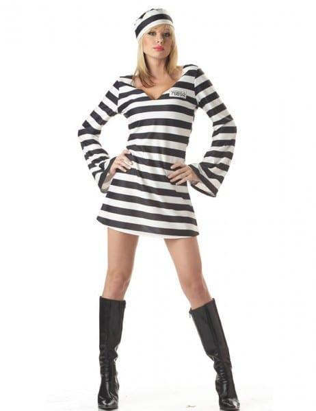 Moonight New Arrival Convict Criminal Zombie Black White Stripe
