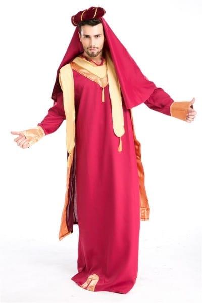 New Arrival Man's Halloween Masquerade Arab Man Costumes Men