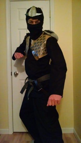 Ninjago Costume 2014  Cole Zx By Packerfan95 On Deviantart