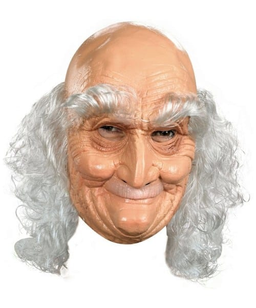 Old Man Halloween Mask