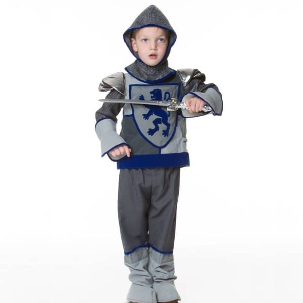 Children's Crusader Knight Dress Up Costume By Time To Dress Up