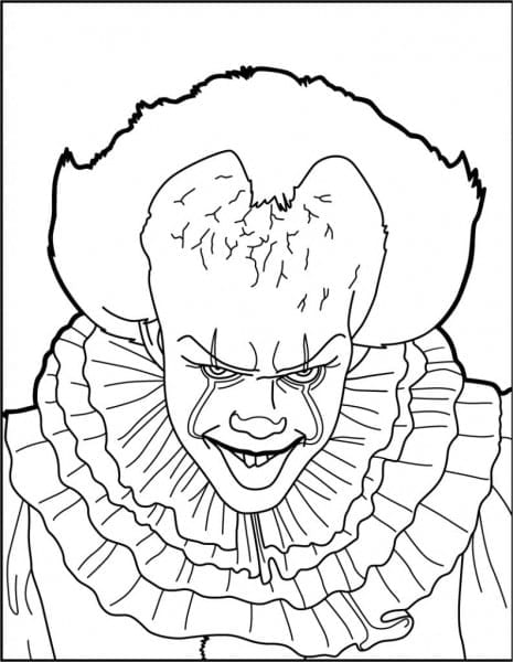Pennywise Coloring Pages  6660